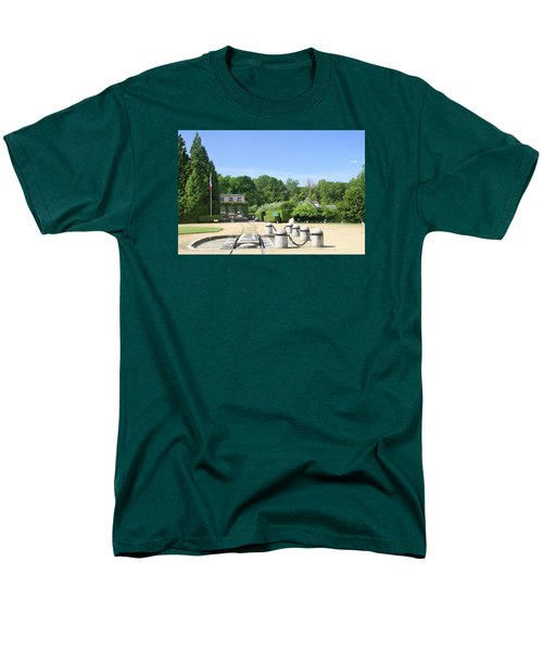 Men's T-Shirt  (Regular Fit) featuring the photograph Armistice Clearing In Compiegne by Travel Pics