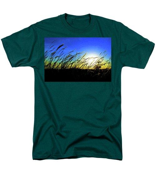 Tall Grass Men's T-Shirt  (Regular Fit) by Bill Kesler