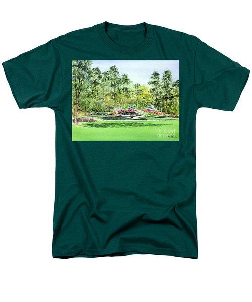 Augusta National Golf Course Men's T-Shirt  (Regular Fit) by Bill Holkham