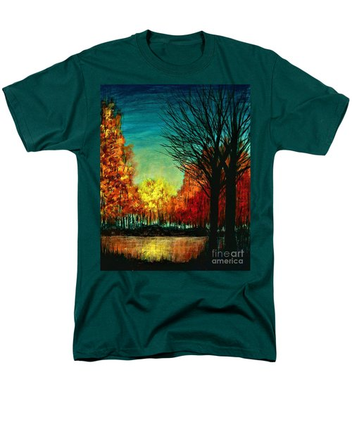 Autumn Silhouette  Men's T-Shirt  (Regular Fit)