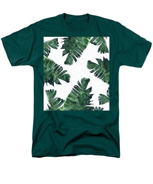 Banan Leaf Watercolor Men's T-Shirt  (Regular Fit) by Uma Gokhale