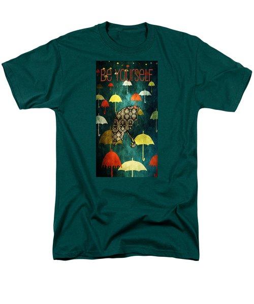 Be Yourself - Large Format Men's T-Shirt  (Regular Fit)