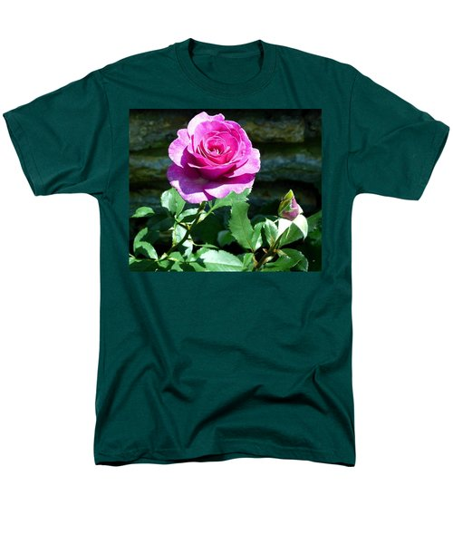 Men's T-Shirt  (Regular Fit) featuring the photograph Beauty And The Bud by Will Borden