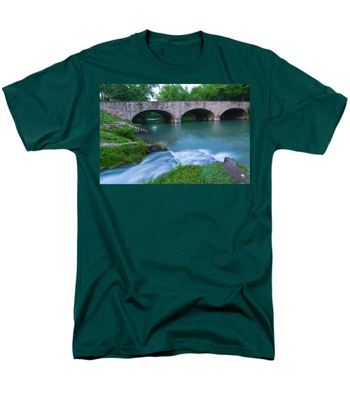 Men's T-Shirt  (Regular Fit) featuring the photograph Bennett Spring by Steve Stuller
