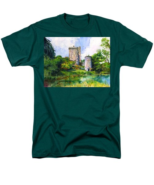 Blarney Castle Landscape Men's T-Shirt  (Regular Fit) by John D Benson
