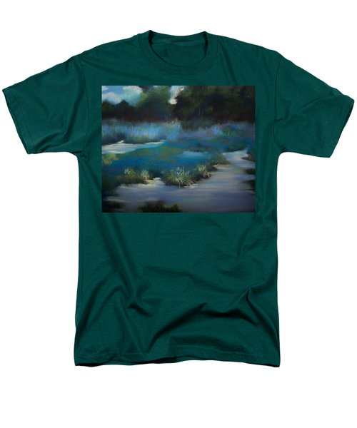 Blue Eden Men's T-Shirt  (Regular Fit) by Marika Evanson