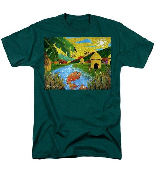 Boriken Men's T-Shirt  (Regular Fit) by Oscar Ortiz