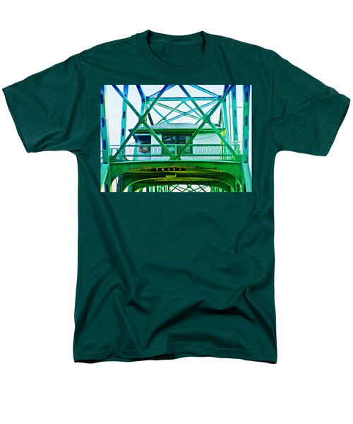 Men's T-Shirt  (Regular Fit) featuring the photograph Bridge House by Adria Trail