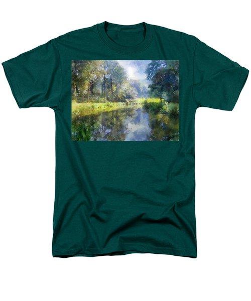 Brookside Men's T-Shirt  (Regular Fit) by Francesa Miller