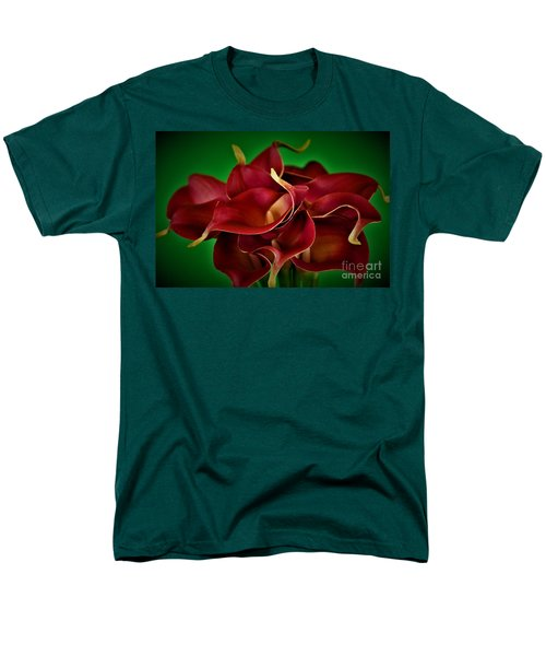 Calla Lily Bouquet Men's T-Shirt  (Regular Fit) by Ray Shrewsberry