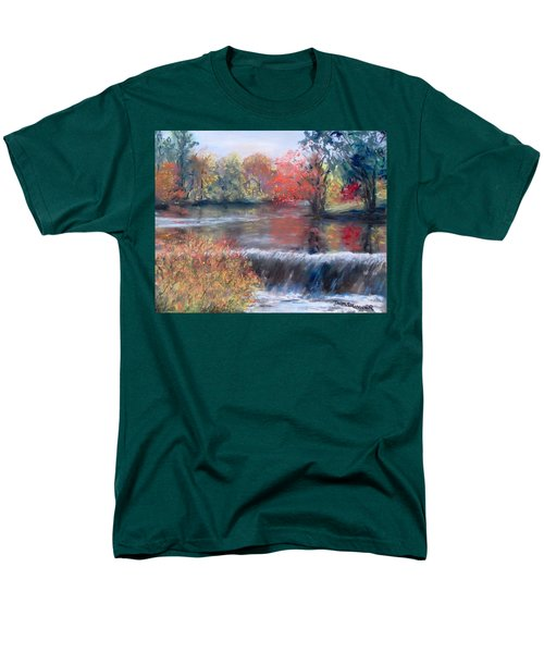 Charles River, Natick Men's T-Shirt  (Regular Fit) by Jack Skinner