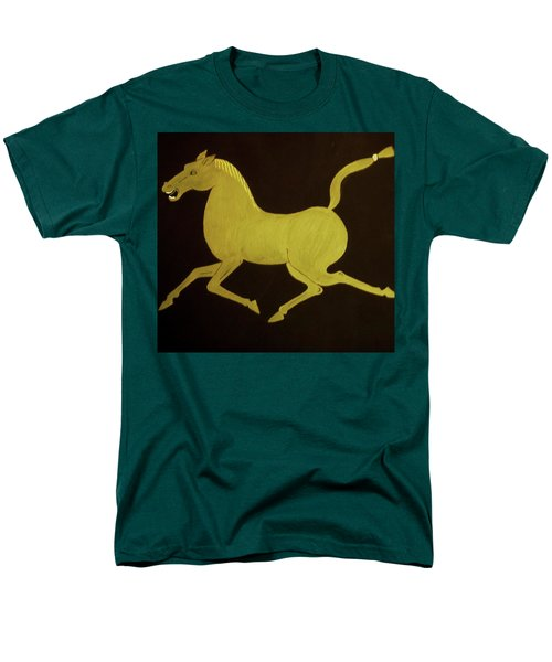 Chinese Horse Men's T-Shirt  (Regular Fit) by Stephanie Moore