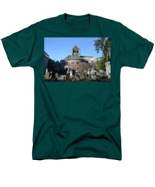 Circular Congregational Church Men's T-Shirt  (Regular Fit) by Gordon Mooneyhan