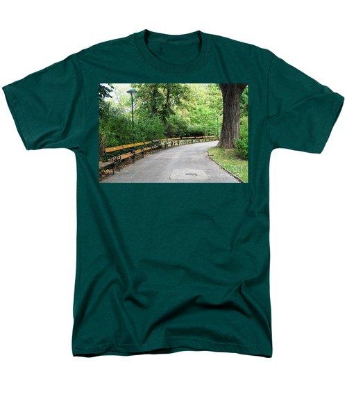City Park, Vienna Men's T-Shirt  (Regular Fit) by Christian Slanec