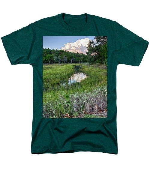 Cloud Over Marsh Men's T-Shirt  (Regular Fit) by Patricia Schaefer