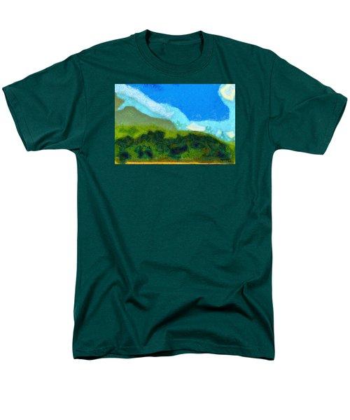 Cloud River Men's T-Shirt  (Regular Fit) by Spyder Webb