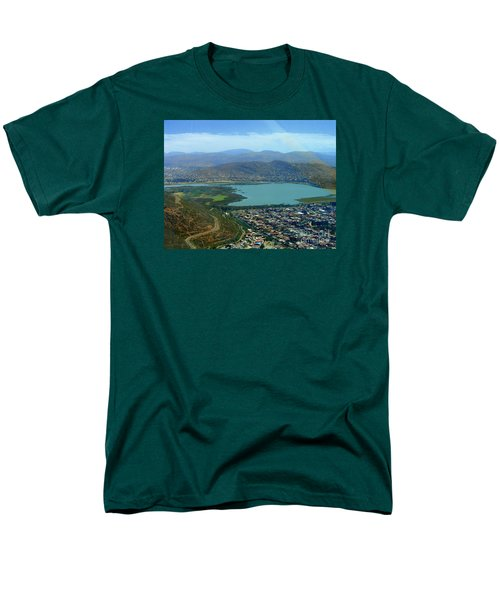Cochabamba Lake Men's T-Shirt  (Regular Fit) by Lew Davis
