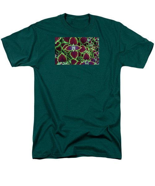 Coleus Leaves Men's T-Shirt  (Regular Fit) by Nareeta Martin