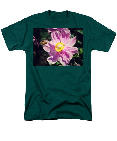 Men's T-Shirt  (Regular Fit) featuring the photograph Coming In For A Landing by Karen Stahlros