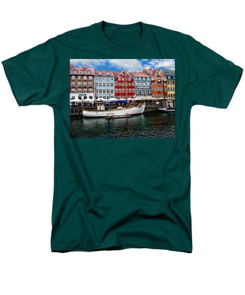 Copenhagen - Denmark Men's T-Shirt  (Regular Fit) by Anthony Dezenzio