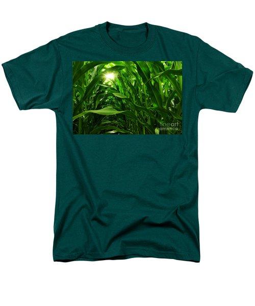 Corn Field Men's T-Shirt  (Regular Fit) by Carlos Caetano