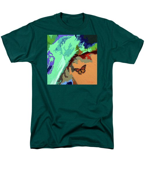 Crossing The Border For A New Life Men's T-Shirt  (Regular Fit) by John Lautermilch