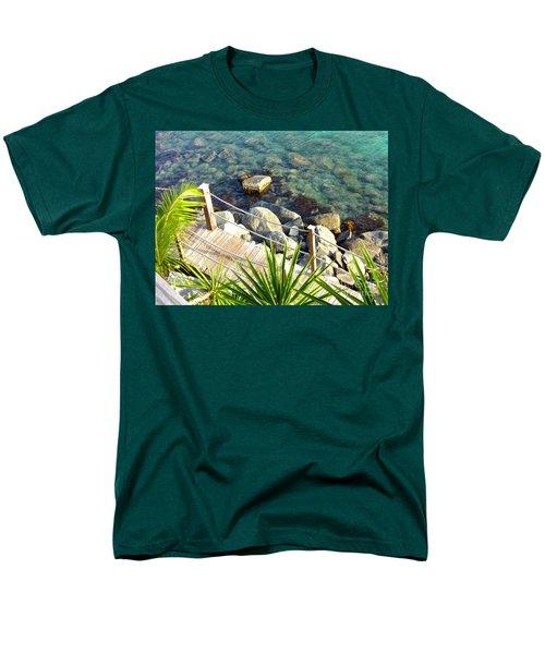 Crystal Clear Men's T-Shirt  (Regular Fit) by Beth Saffer