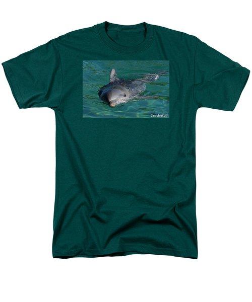 Curious Dolphin Men's T-Shirt  (Regular Fit)