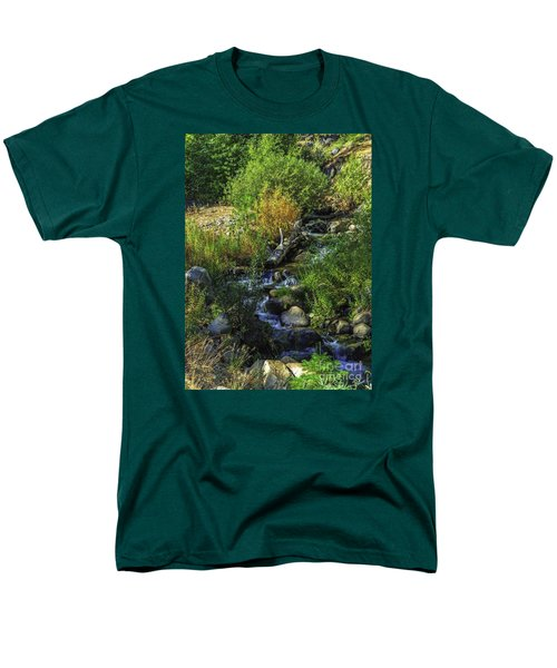 Daily Greens-2 Men's T-Shirt  (Regular Fit) by Nancy Marie Ricketts
