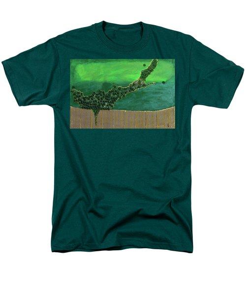 Deep Impact Men's T-Shirt  (Regular Fit) by Donna Blackhall