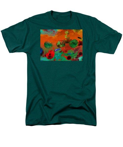 Deep In The Sea Men's T-Shirt  (Regular Fit) by Haleh Mahbod