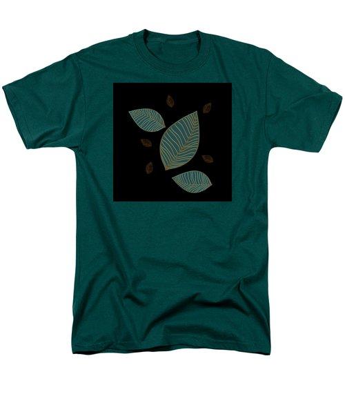 Descending Leaves Men's T-Shirt  (Regular Fit) by Kandy Hurley