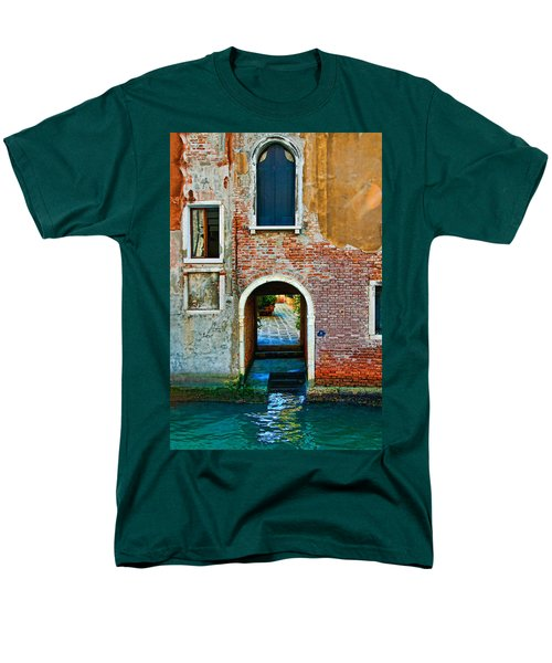 Dock And Windows Men's T-Shirt  (Regular Fit) by Harry Spitz