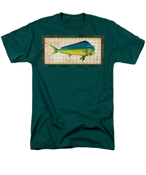 Men's T-Shirt  (Regular Fit) featuring the painting Dorado by Jon Q Wright