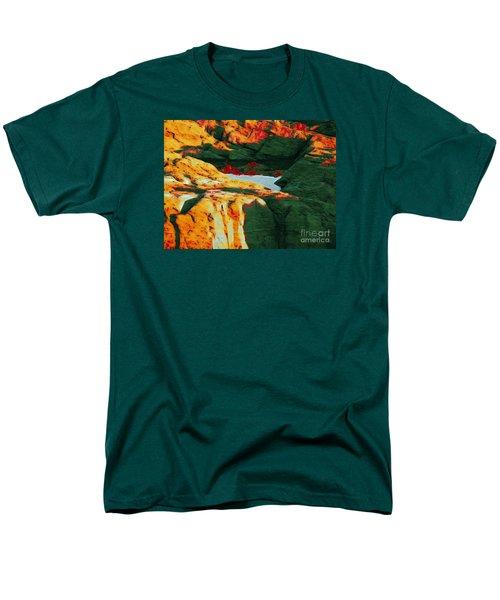 Dream Colors Men's T-Shirt  (Regular Fit) by Marcia Lee Jones