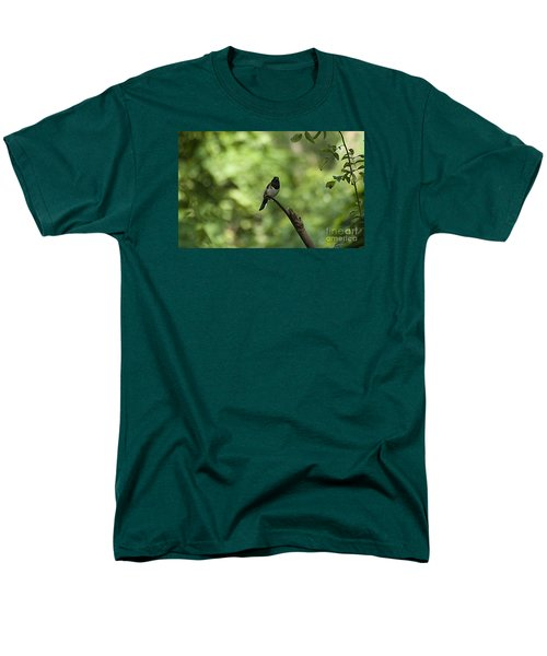 Men's T-Shirt  (Regular Fit) featuring the photograph Eastern Towhee 20120707_52a by Tina Hopkins