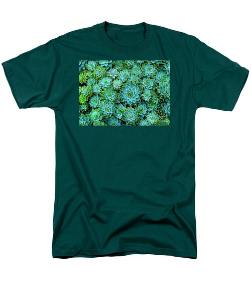 Echeveria 2 Men's T-Shirt  (Regular Fit) by Ranjini Kandasamy