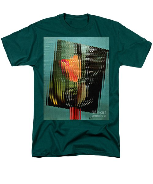 Electric Tulip 2 Men's T-Shirt  (Regular Fit) by Sarah Loft