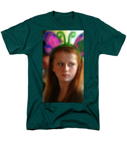Men's T-Shirt  (Regular Fit) featuring the painting Ella by Mindy Newman