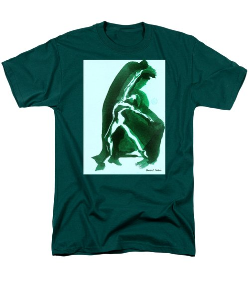 Men's T-Shirt  (Regular Fit) featuring the drawing Expressions by Denise Fulmer