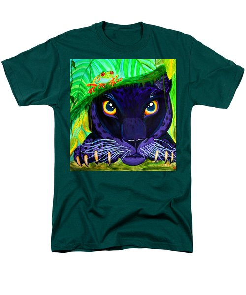 Eyes Of The Rainforest Men's T-Shirt  (Regular Fit) by Nick Gustafson