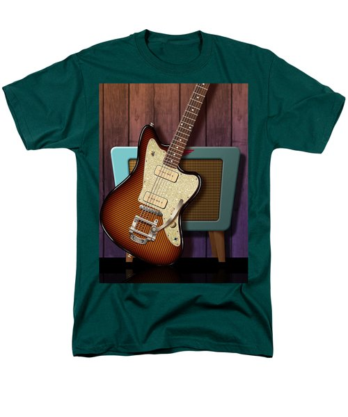 Men's T-Shirt  (Regular Fit) featuring the digital art Fano Retro by WB Johnston