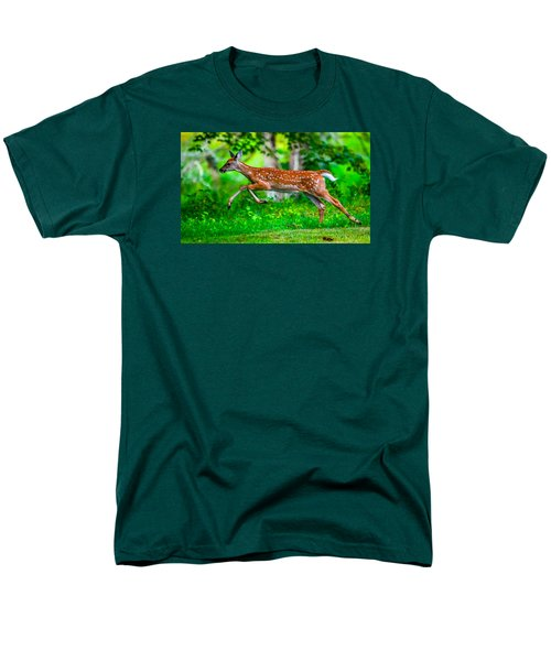 Fast Fawn 2 Men's T-Shirt  (Regular Fit) by Brian Stevens