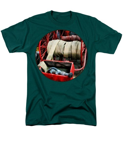 Fireman - Fire Hoses Men's T-Shirt  (Regular Fit) by Susan Savad