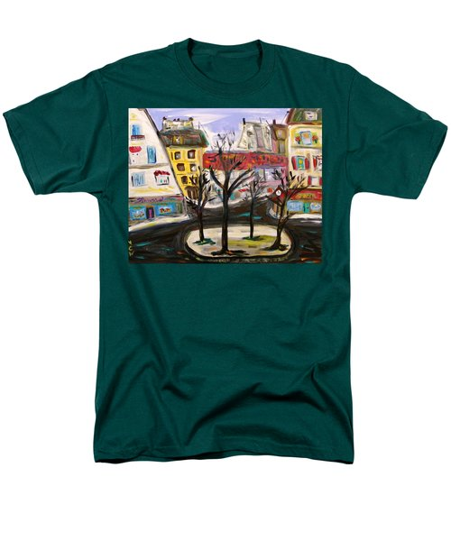 Flowers At The Corner Men's T-Shirt  (Regular Fit) by Mary Carol Williams