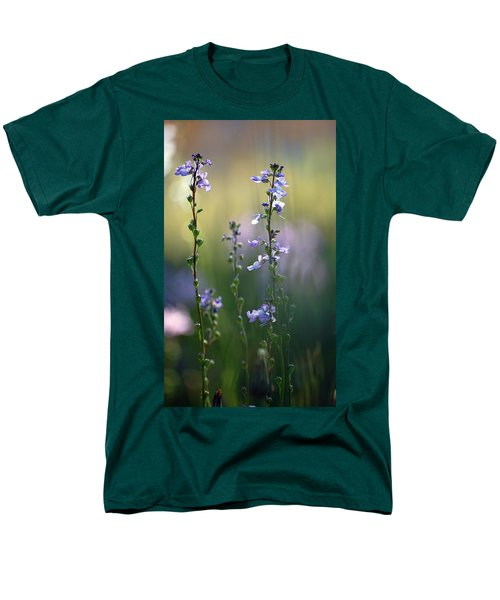 Flowers By The Pond Men's T-Shirt  (Regular Fit) by Robert Meanor