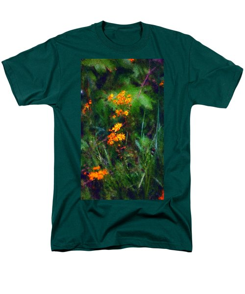 Flowers In The Woods At The Haciendia Men's T-Shirt  (Regular Fit)