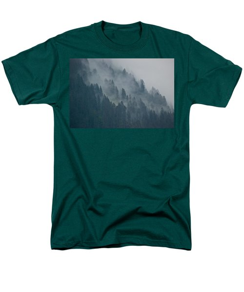 Foggy Mountain Ridge Men's T-Shirt  (Regular Fit) by Eric Tressler