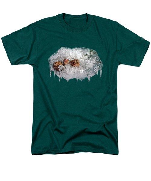 Frosty Bed Men's T-Shirt  (Regular Fit) by AugenWerk Susann Serfezi