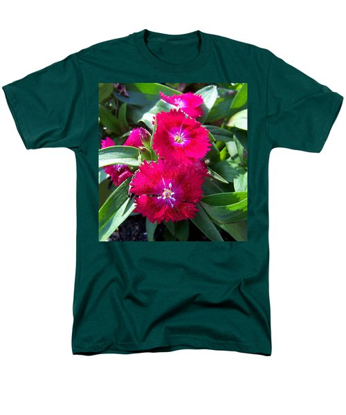 Men's T-Shirt  (Regular Fit) featuring the photograph Garden Delight by Sandi OReilly